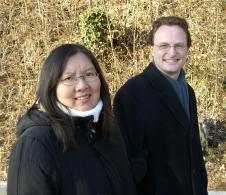 Sue mit Christian (Bruder von Mathias)