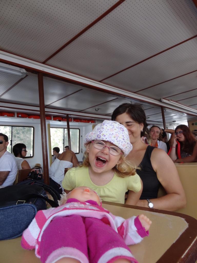Laura Maria auf dem Schiff