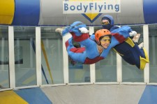 Claudia beim BodyFlying