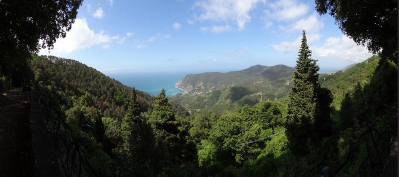 Hoch über Monte Rosso al Mare