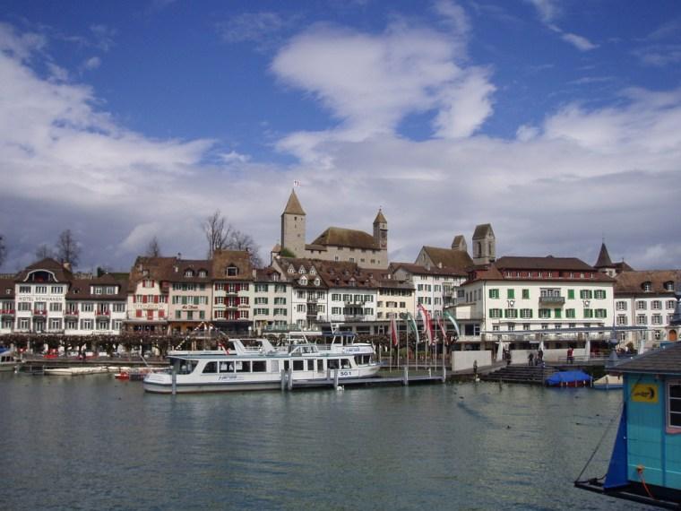 Hafen und Altstadt von Rapperswil