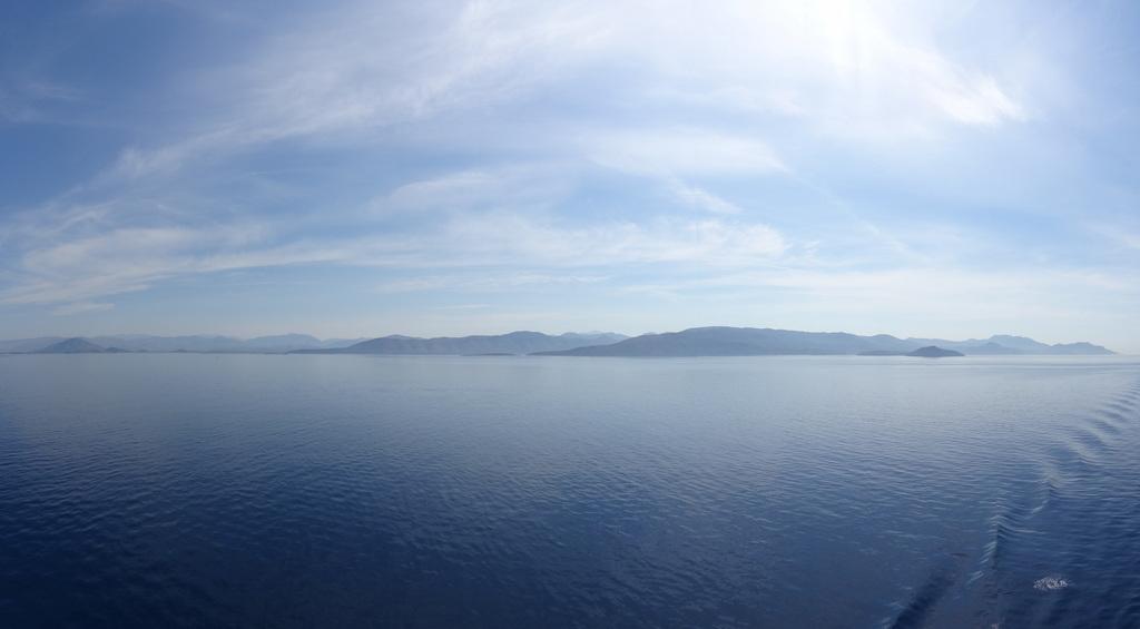 Vor der Küste Kroatiens