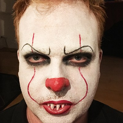 Stephen King ES MakeUp Clown Halloween