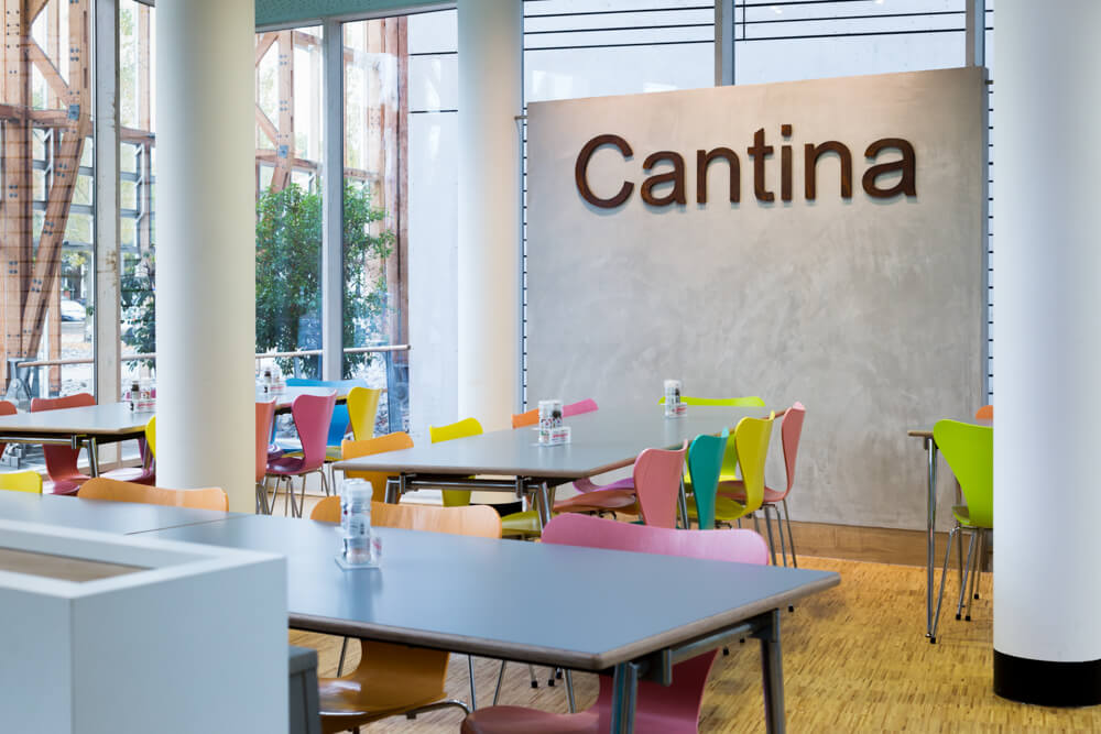 Mont-Cenis, Imagefotos, Architekturfotografie, Kantine, Gastronomie, Gastroraum, Cantina
