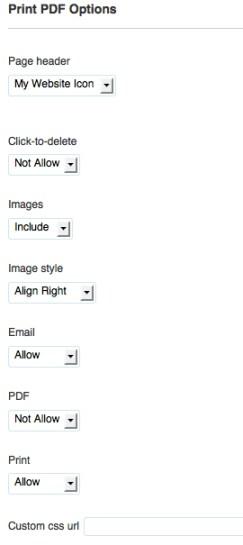 Print friendly - strumenti che uso