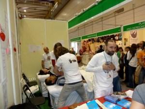 BioCultura Barcelona 2016 - stand Liberación del Pericardio-