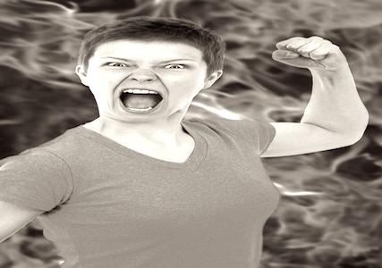 el hígado y la ira