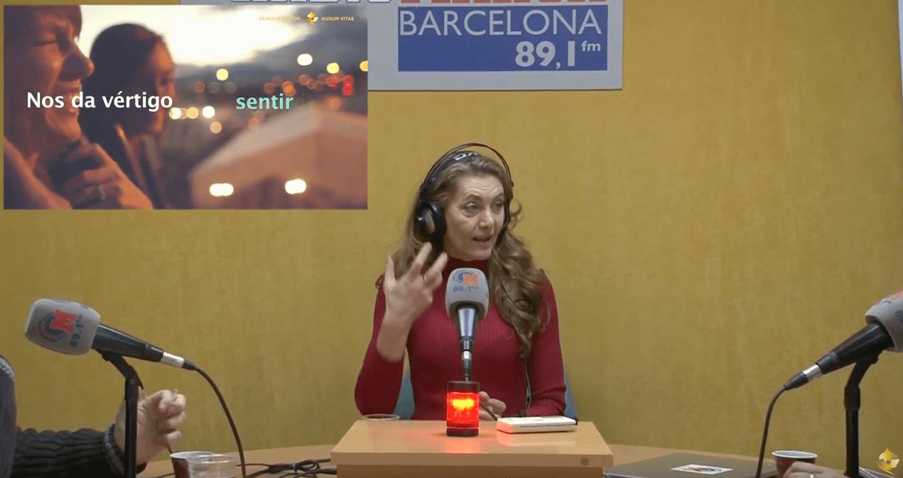 Charla de Claudia Boschi en Radio Marca