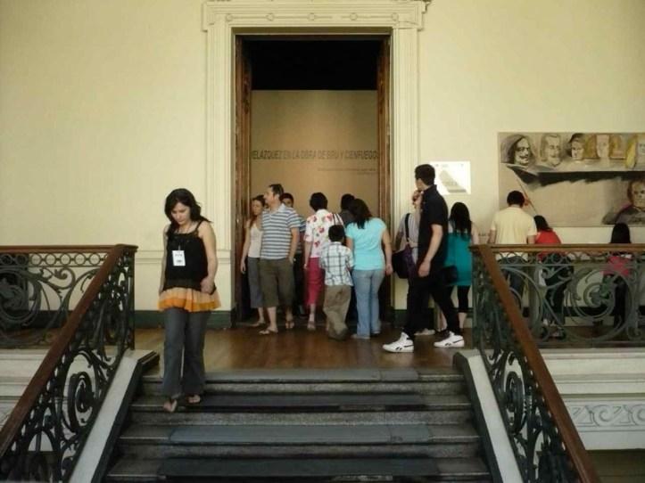 MNBA. Acceso expo Velázquez en la obra de Bru y Cienfuegos, 2008