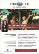 Encuentros El Mercurio, 2015. Conferencia Claudia Campana