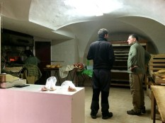 Uma padaria em Santa Marta Magasca, na Extremadura