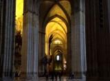 Catedral de Sevilha, onde chorei, chorei, de ter que me controlar. Esmagada pela beleza gótica que nem o barroco estragou.