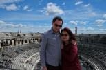 Arena de Nîmes (França), a arena mais bem preservada no mundo, com capacidade para 20 mil pessoas