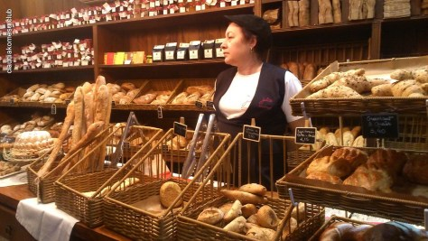 Julice sempre tem pães bons
