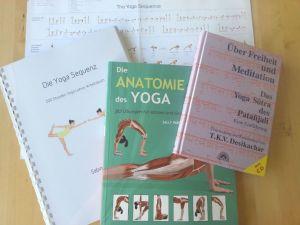 Yoga Ausbildung RYT 200 Literatur