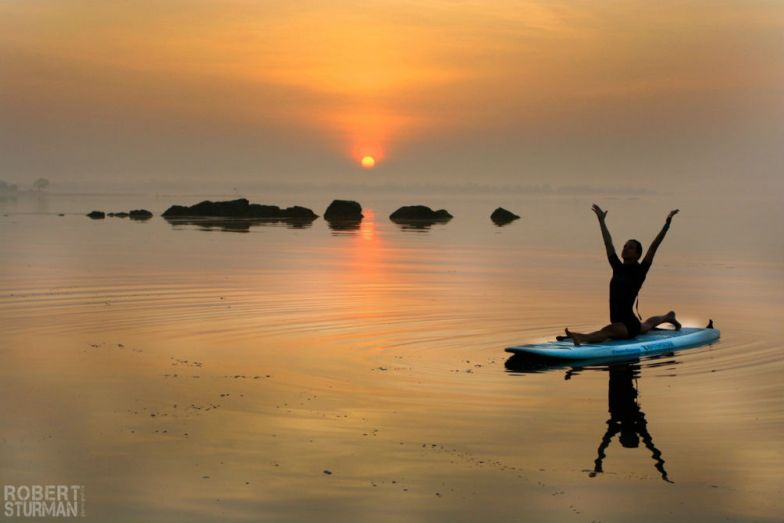 SUP Yoga Berlingen Kinga Toth