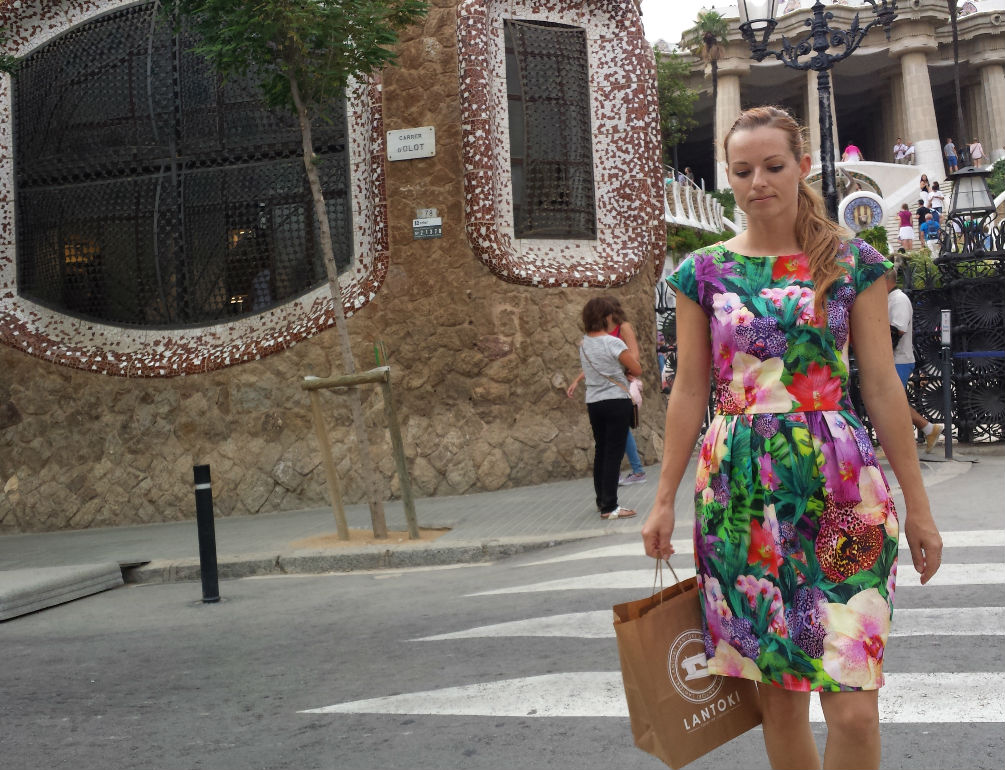Sommerkleid Tropical