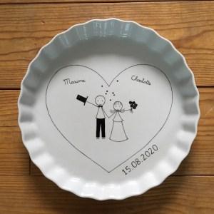 cadeau noce de porcelaine