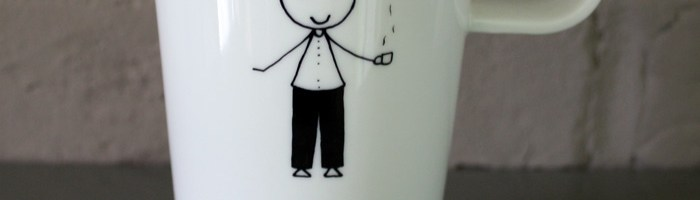 Une belle tasse pour remercier l'institutrice ou l'instituteur