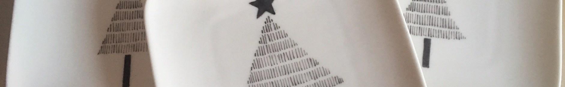 Repose sachet de thé thème Noël