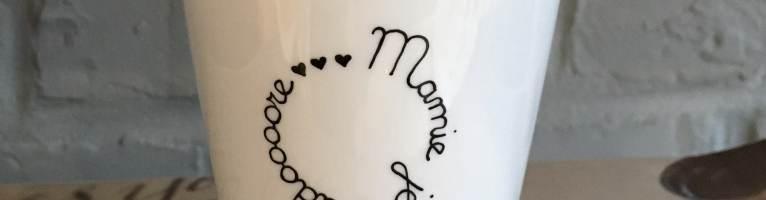 Une jolie tasse rien que mamie
