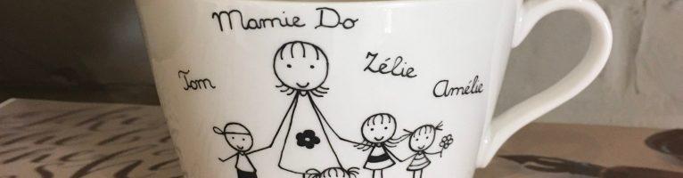 Une belle tasse personnalisée pour mamie