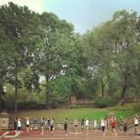 Sport en ligne (Bethesda Terrace, Central Park)