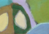 """Small landscape Day 3. 5"""" x 7"""" on canvas board."""