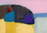 """Small landscape Day 10 - 5"""" x 7"""" on canvas board"""