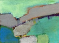 """Small landscape, Day 70 - 5"""" x 7"""" on canvas board."""