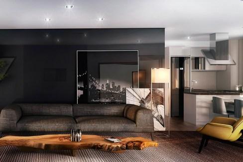 APTO de 94 m², que é o resultado da junção de 2 unidades, tornando-se um apto ainda mais exclusivo