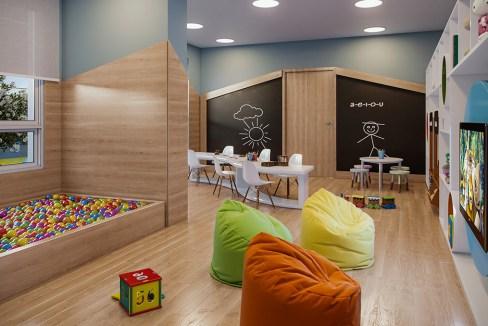 Brinquedoteca do Next Astorga Condomínio Clube
