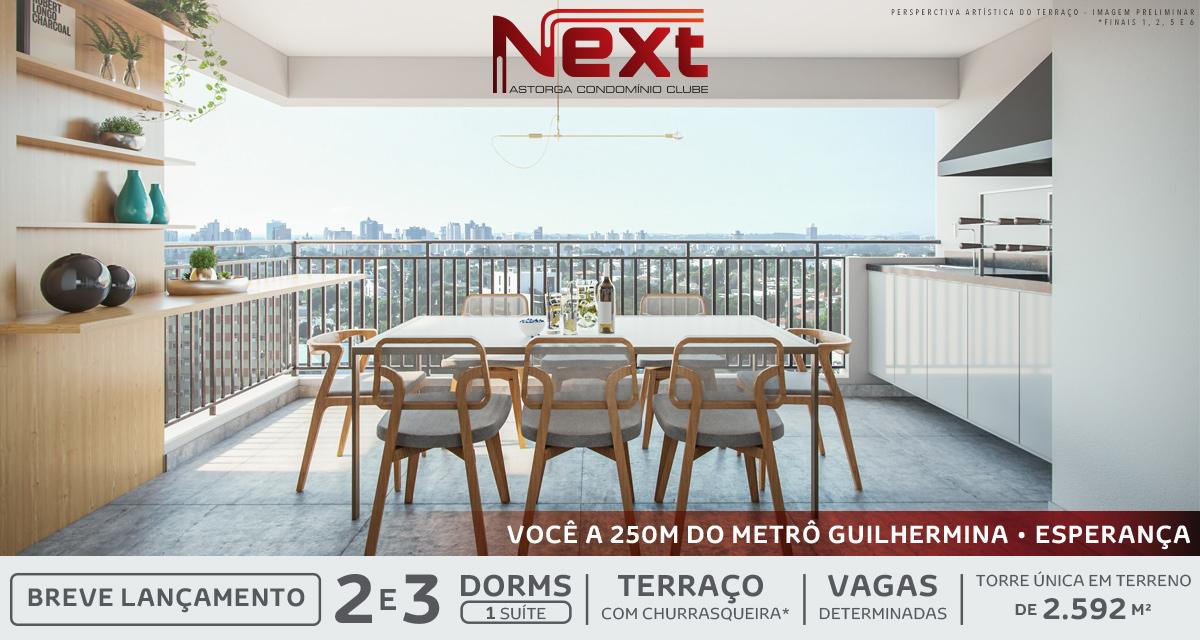 Destaque do Next Astorga Condomínio Clube
