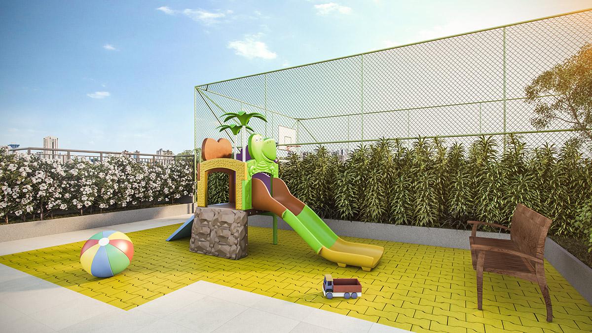 Playground do Next Astorga Condomínio Clube