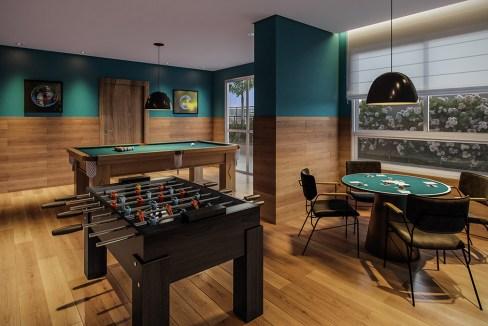 Salão de Jogos do Next Astorga Condomínio Clube