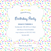 sprinkle-pattern-invitations-by Claudia Owen