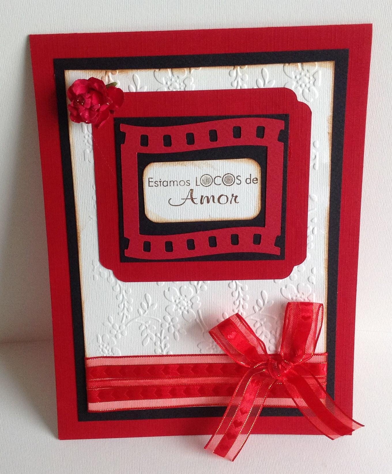 Tarjetas scrapbook para san valentin claudia rafaella - Album para san valentin ...
