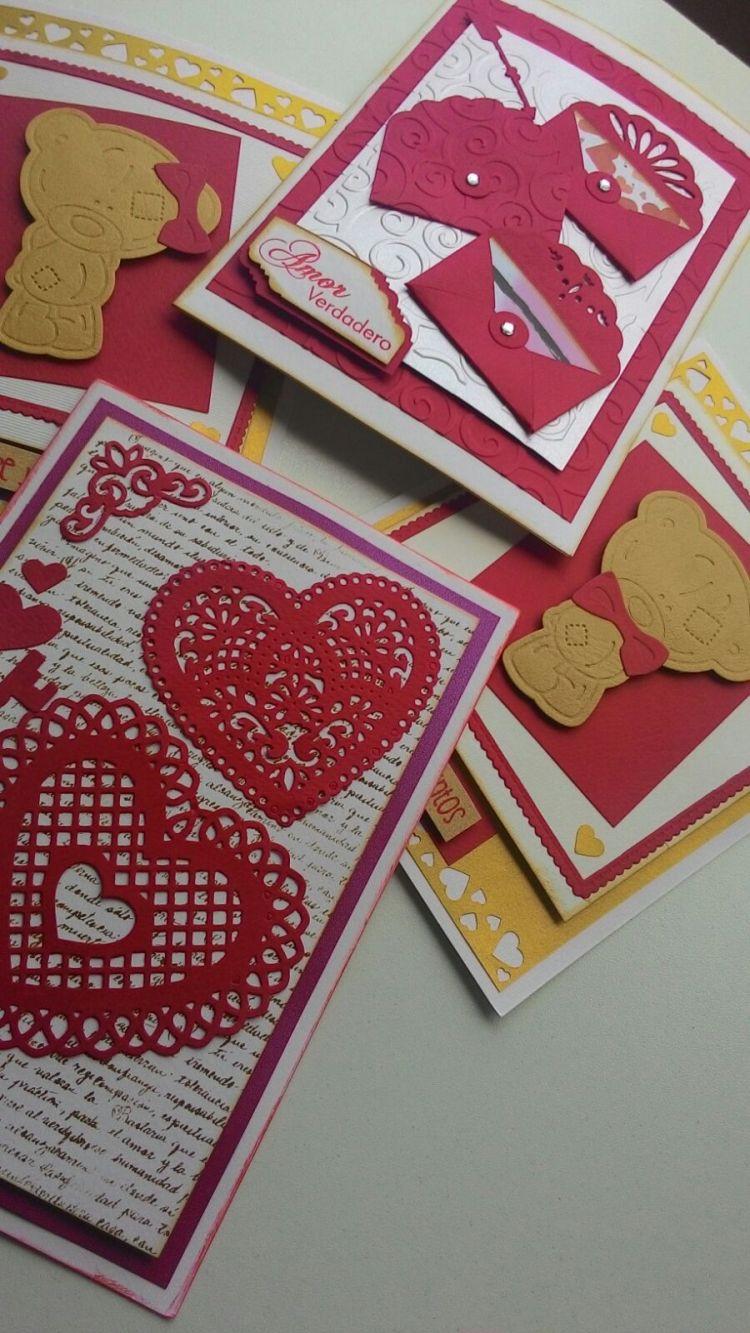 tarjeta scrapbook para san valentin 27