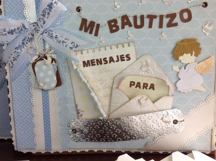 Album libro de firmas bautizo primera comunion 2