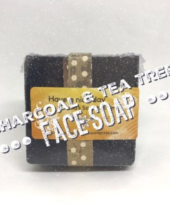 Charcoal and tea tree Face soap