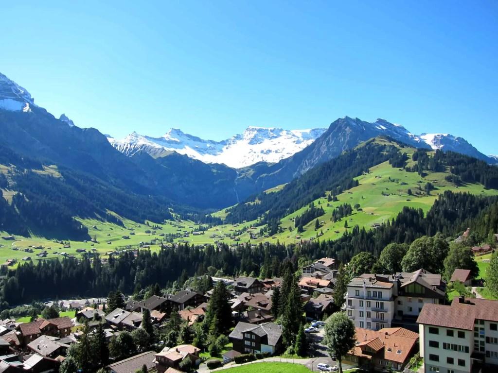 village of adelboden
