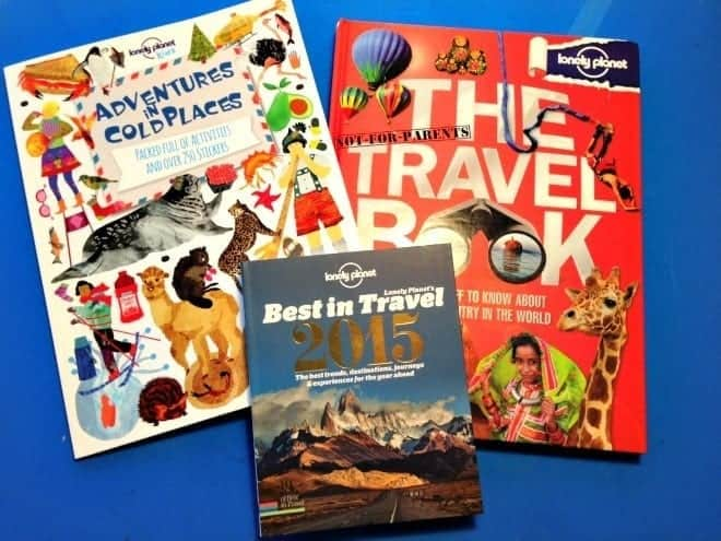 Lonely Planet Kids Giveaway Book package