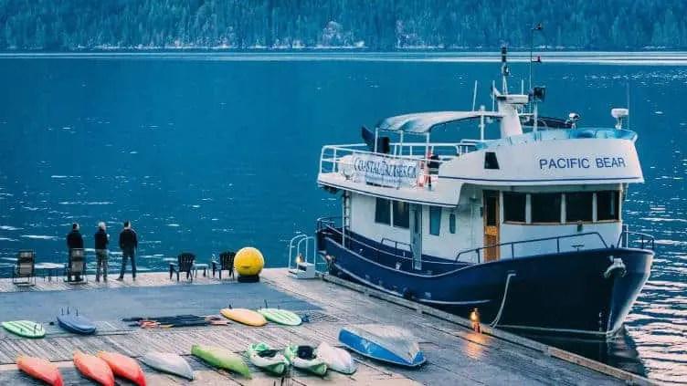 pacific bear pacific coastal cruises