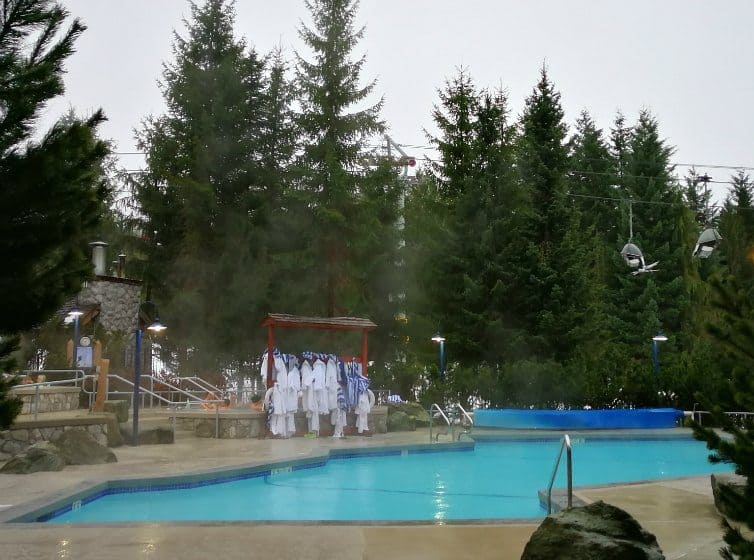 swimming pool at blackcomb suites