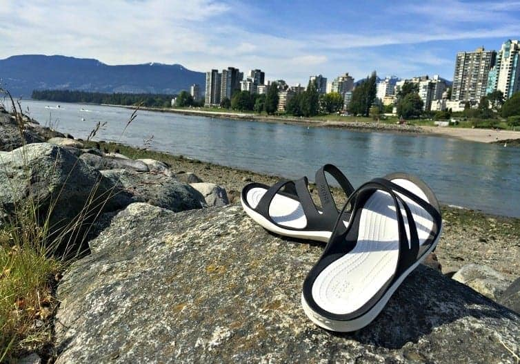 Crocs are the ultimate come as you are, slip on slip off shoe. Perfect for summer weekends by the water or at the cottage. Come as you are with Crocs.