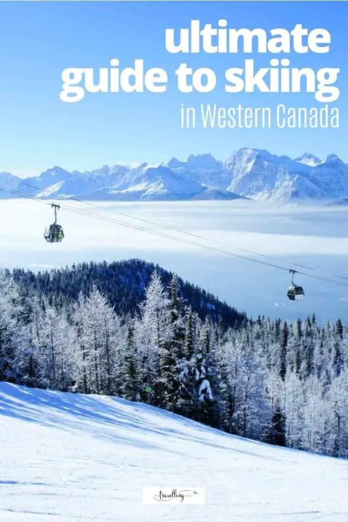 skiing in western canada