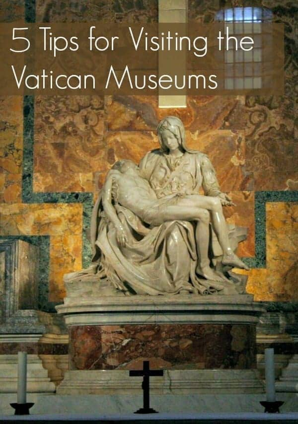 A trip to Rome is incomplete without planning a visit to the Vatican Museums, St. Peter's Basilica, and the Sistine Chapel. These 5 travel tips for visiting the Vatican Museums will help you get the most from your tour of this world heritage site. | Italy travel | thetravellingmom.ca