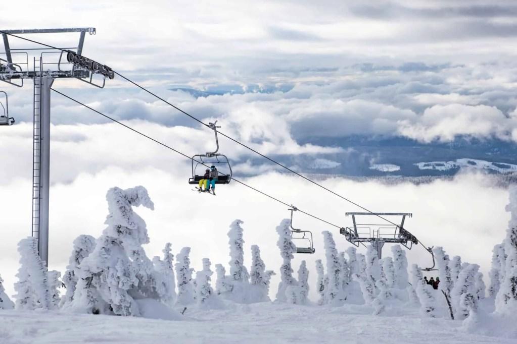 big white ski resort with kids