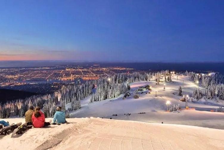 ski resorts near vancouver grouse mountain