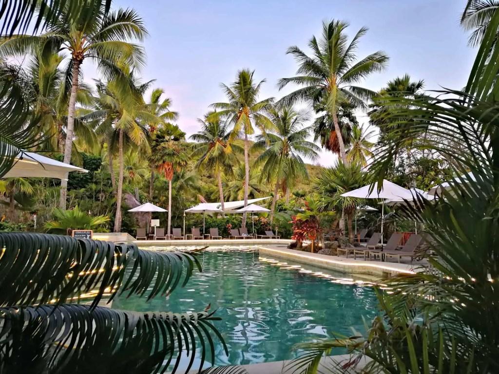 pool on castaway island where to stay in fiji